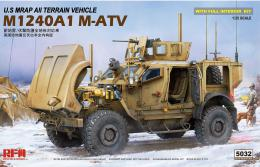 RYE FIELD 1/35 U.S MRAP All Terrain Vehicle M1240A1 M-AT