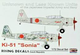 RISING DECALS 1/72 Decal Ki-52 Sonia