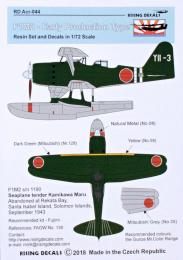 RISING DECALS 1/72 Cowling for F1M2 early (resin set&decal) Pt.2