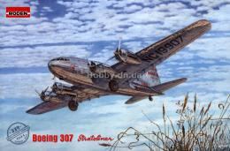 RODEN 1/144 Boeing 307 Stratoliner The Transcontinental Line