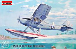 RODEN 1/32 1/32 L-19/0-1 Bird Dog Floatplane