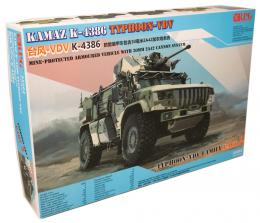 RPG MODELS 1/35 Kamaz K-4386 Typhoon-VDV Mine-Protected Armoured Vehicle with 30mm 2A42 Cannon System