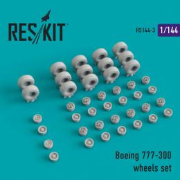 RESKIT 1/144 Boeing 747-300 wheels for REV