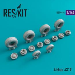 RESKIT 1/144 Airbus A319 wheels for REV