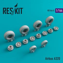 RESKIT 1/144 Airbus A320 wheels (REV/ZVE)