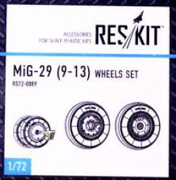 RESKIT 1/72 MiG-29 for 9-13  wheels set for TRUMP,ICM,ZVE