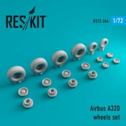 1/72 Airbus A320 wheels (WELSH M.)