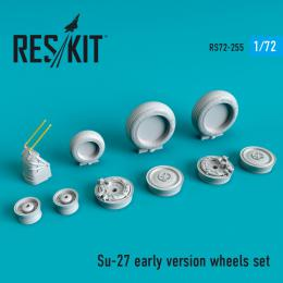 1/72 Su-27 Flanker wheels set early version
