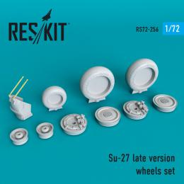 1/72 Su-27 Flanker late version wheels set late