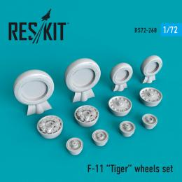 1/72 F-11 Tiger wheels set for HAS