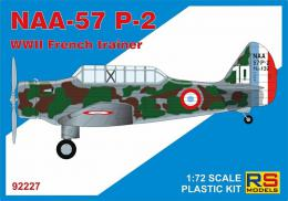 RS MODEL 1/72 NAA-57 P-2 French WWII Trainer (5x camo)