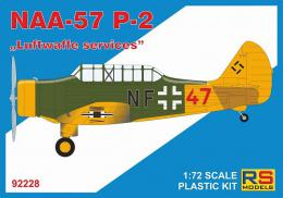 RS MODEL 1/72 NAA-57 P-2 Luftwaffe services (5x camo)