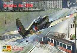 RS MODEL 1/72 Arado Ar-396