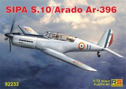 RS MODEL 1/72 SIPA S.10/Arado Ar-396