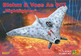 RS MODEL 1/72 Blohm & Voss Ae 607 Nightfighter