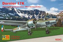 RS MODEL 1/72 Dornier Do 17K German WWII Bomber