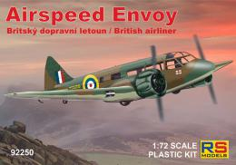 RS MODEL 1/72 Airspeed Envoy British airliner