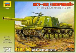 ZVEZDA 1/35 ISU-152 Self Propelled Gun