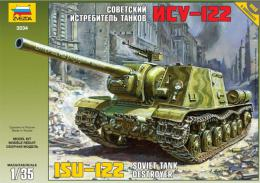 ZVEZDA 1/35 ISU-122 Self Propelled Gun
