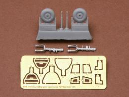 SBS MODEL 1/72 Fiat G.50 bis Undercarriage set for FLY