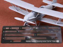 SBS 1/72 Hawker Demon rigging wire PE set for AIR