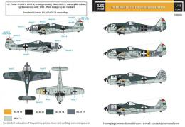 SBS 1/48 Decal Fw-190 F-8 in Hungarian Service