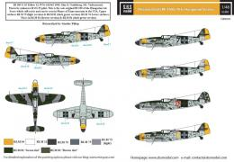 SBS 1/48 Decal Bf-109G-10 in Hungarian Service