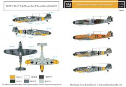 SBS 1/48 Decal Bf-109F in Spanish Service