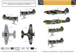 SBS 1/48 Decal Captured Fighters in Finnish Service