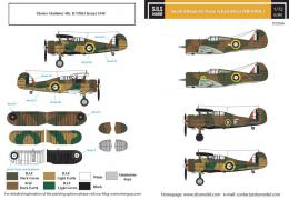 SBS 1/48 Decal South African AF in East Africa vol. I
