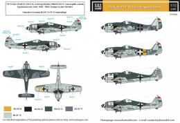 SBS 1/72 Decal Fw-190 F-8 in Hungarian Service