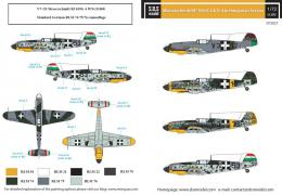 SBS 1/72 Decal Bf-109G-2&G-4 in Hungarian Service