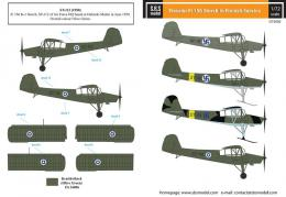 SBS 1/72 Decal Fiesler Fi 156 Storch (Finnish Service)