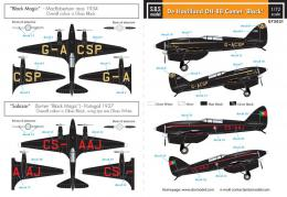 SBS 1/72 Decal DH-88 Comet (Black Magic & Salazar)