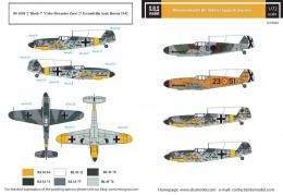 SBS 1/72 Decal Bf-109F in Spanish Service