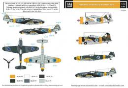 SBS 1/72 Decal Hans Wind Finlands Top Ace WWII