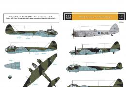 SBS 1/72 Decal Finnish Bombers - Post War Markings