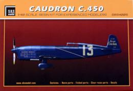 SBS 1/48 Caudron C.450 1934-1935 Resin kit