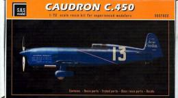 SBS 1/72 Caudron C.450 Resin Kit