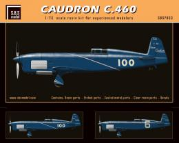 SBS 1/72 Caudron C.460 1935-1936 Resin Kit