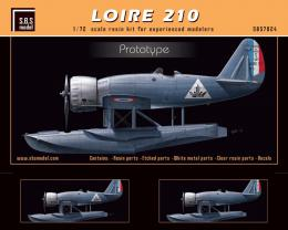 SBS 1/72 LOIRE 210 Prototype 1936-37 Resin Kit