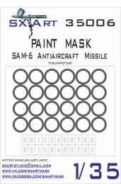 SX-ART 1/35 Mask SAM-6 AA Missile Painting Mask for TRU