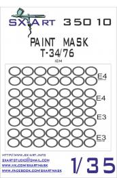 SX-ART 1/35 Mask T-34/76 Painting Mask for ICM