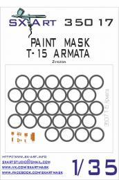 SX-ART 1/35 Mask T-15 ARMATA Painting Mask for ZVE