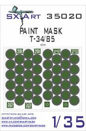 SX-ART 1/35 Mask T-34/85 Painting Mask for ICM