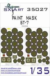 SX-ART 1/35 Mask BT-7 Painting Mask for TAM