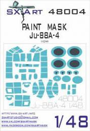 SX-ART 1/48 Ju-88A-4 Painting Mask for ICM