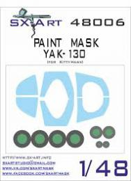 SX-ART 1/48 Yak-130 Painting Mask for KTH