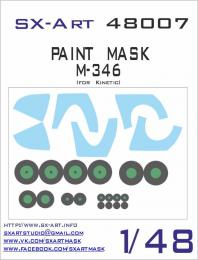 SX-ART 1/48 M-346 Painting Mask for KIN