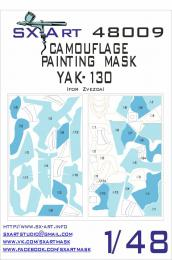 SX-ART 1/48 Yak-130 Camouflage Painting Mask for ZVE